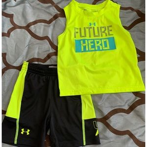 Under Armour Matching Sets - Matching Under Armour Shorts and Tank